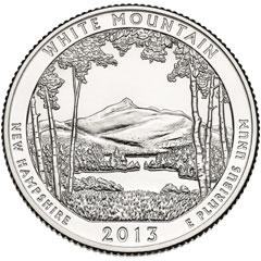 White Mountain National Forest Quarter